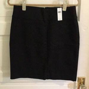 NWT Banana Republic black pencil skirt size 8